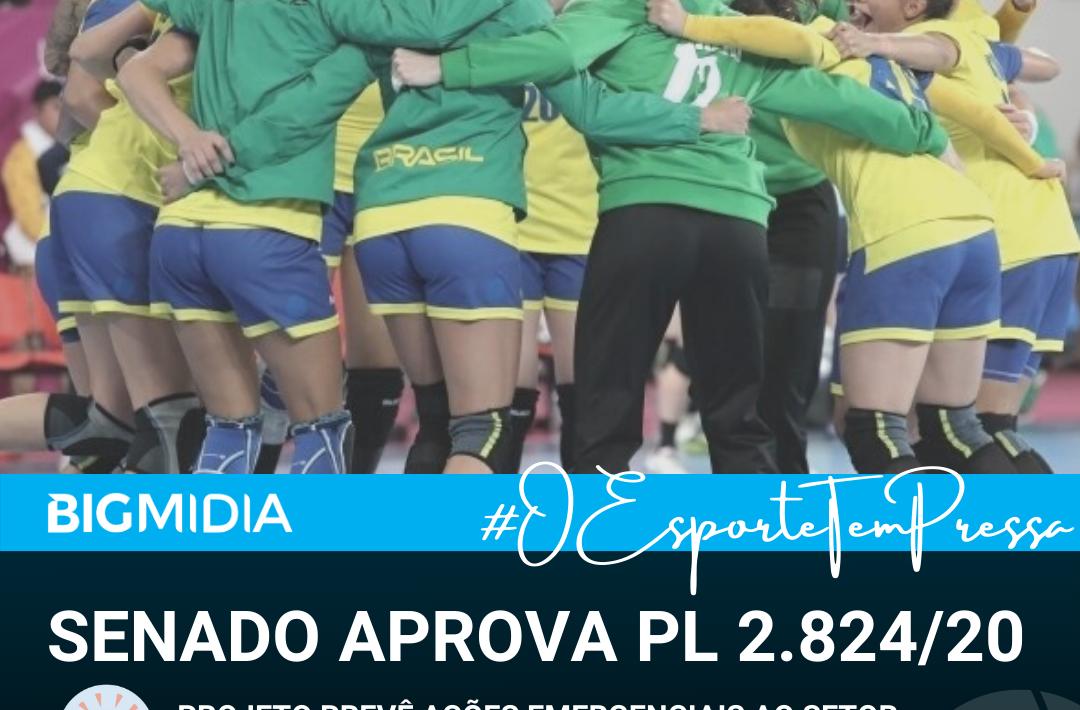 Medidas Emergenciais ao Esporte - PL 2824