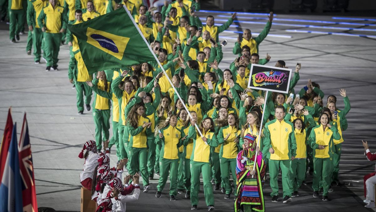 Delegação do Brasil nos jogos Pan-americanos de Lima